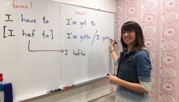 ネイティブから活きた英語を学ぼう!